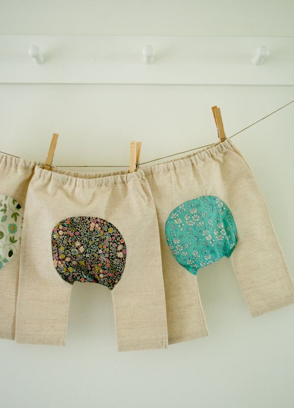 Corinne's Thread: Baby Pants - The Purl Bee