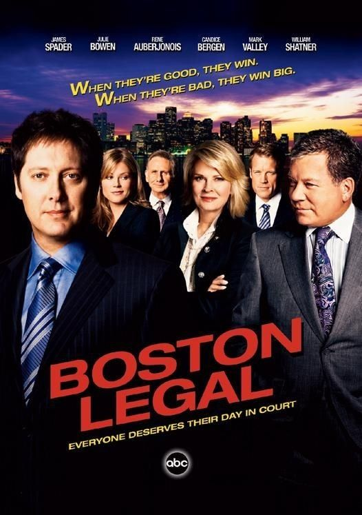 Boston Legal... Always good for a laugh.