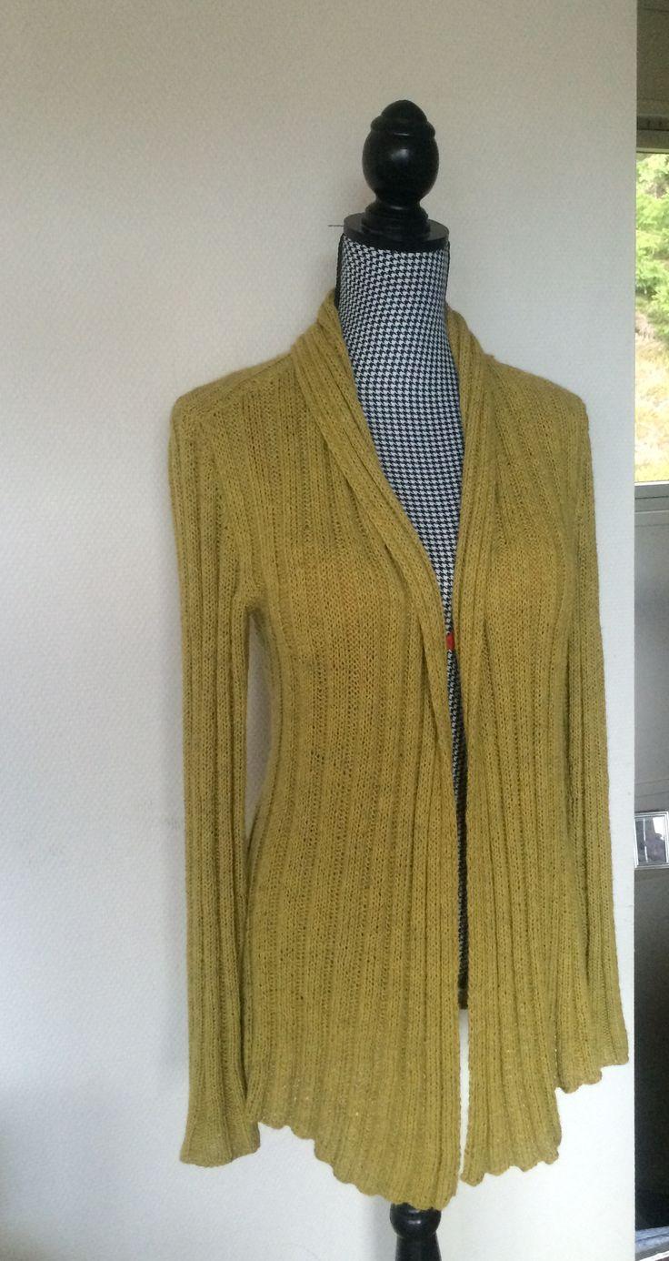 Favorit jakken i bomulin og Isager alpaca. Kredsløb fra Annette Danielsen