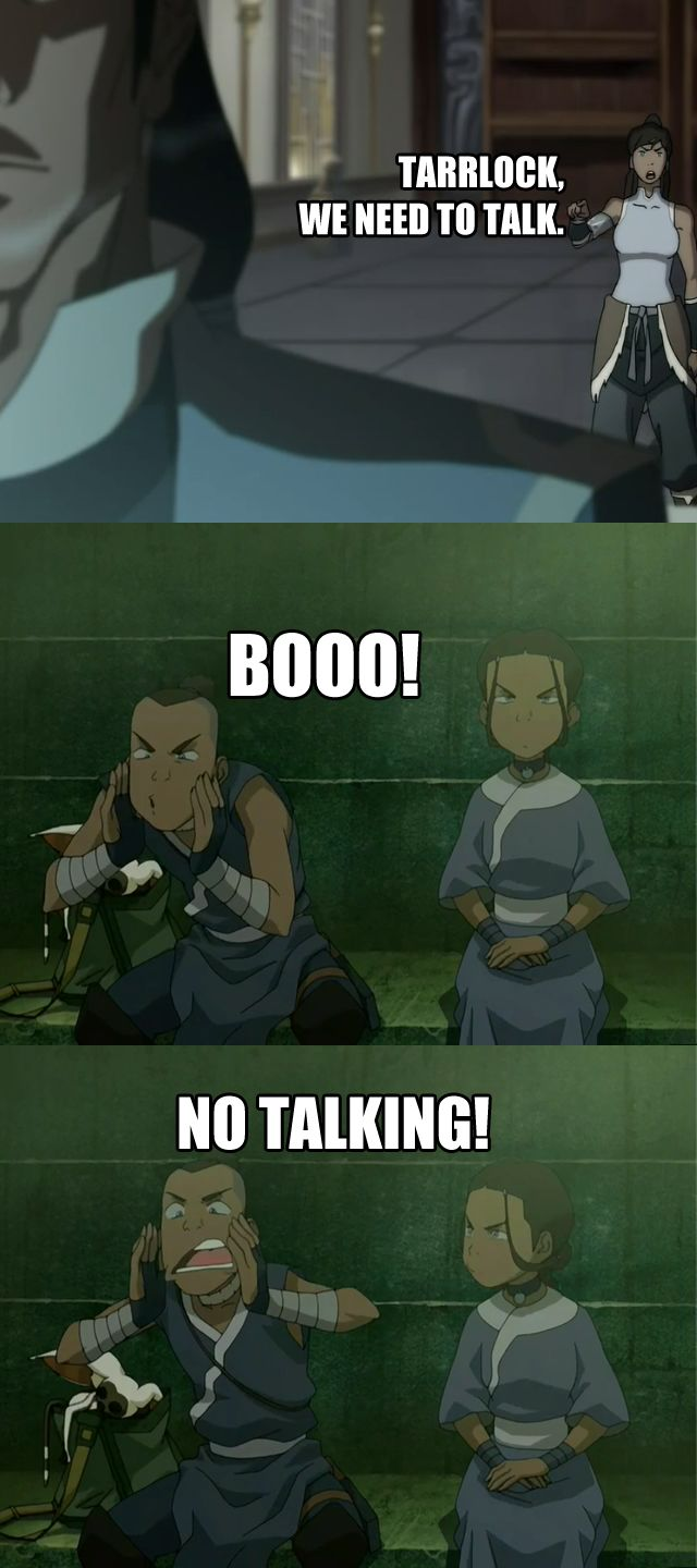 Can the old Team Avatar narrate and commentate on new Team Avatar's shenanigans, please?