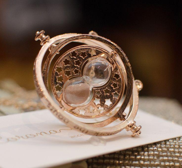 Collar de Gira-Tiempo o Time-Turner | Corona de Papel Accesorios
