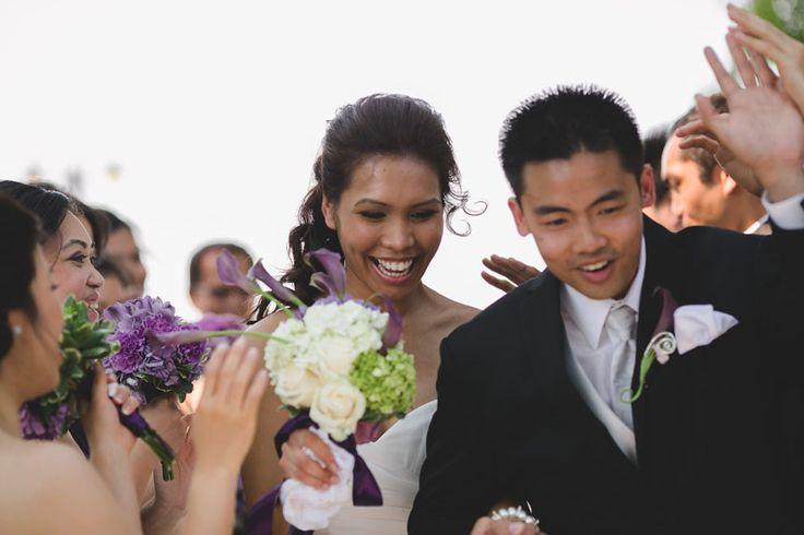 Liuna Gardens Wedding | the bride and groom are now wed by Toronto documentary wedding photographer