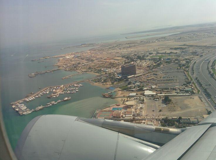 Leaving Doha, Qatar