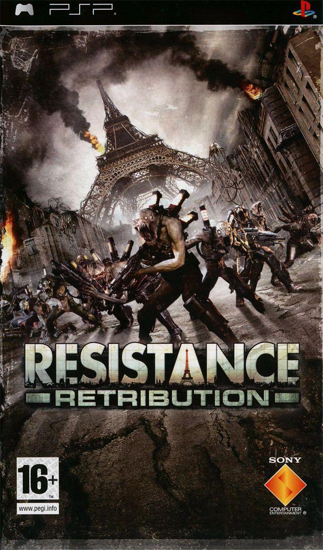 Resistance Retribution - PSP - ArgusJeux.fr : argus jeux vidéo d'occasion, cotation jeux vidéo. Prix et cotes jeux vidéo.