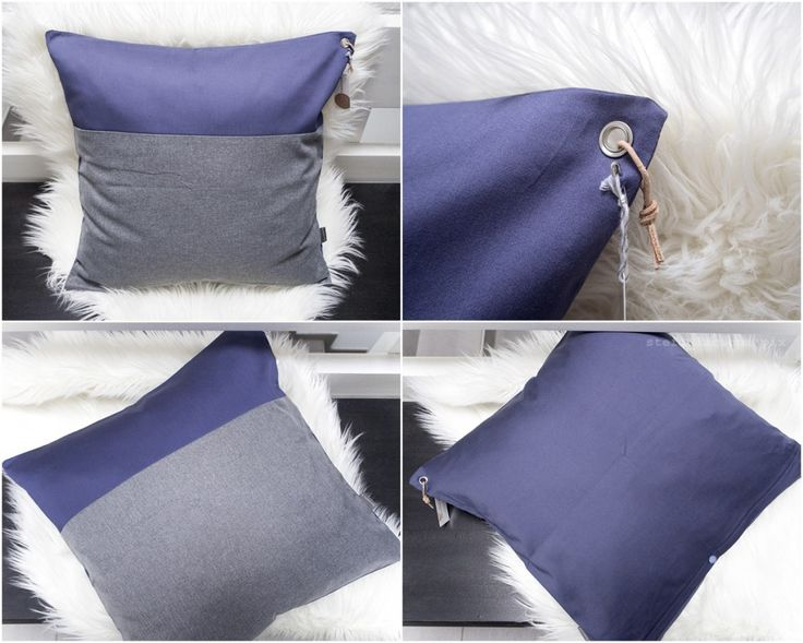 kissen blau-grau 50x50 von schumann 6