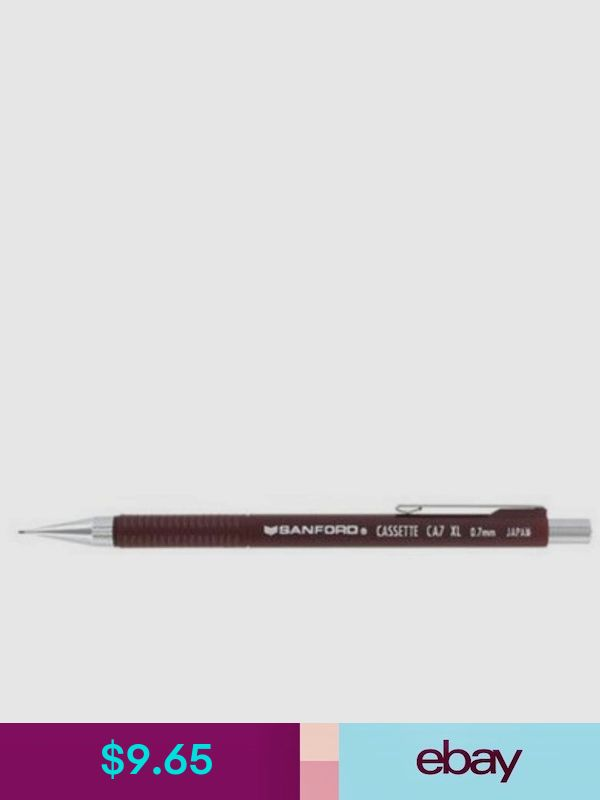 Sanford  Cassette  0.7mm  Pencil  New Made  In Japan  Very Rare