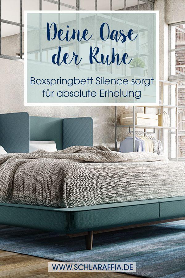 Boxspringbett Silence Der Beziehungsretter Bett