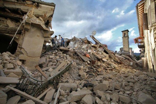TERREMOTO  CENTRO  ITALIA    24 agosto 2016