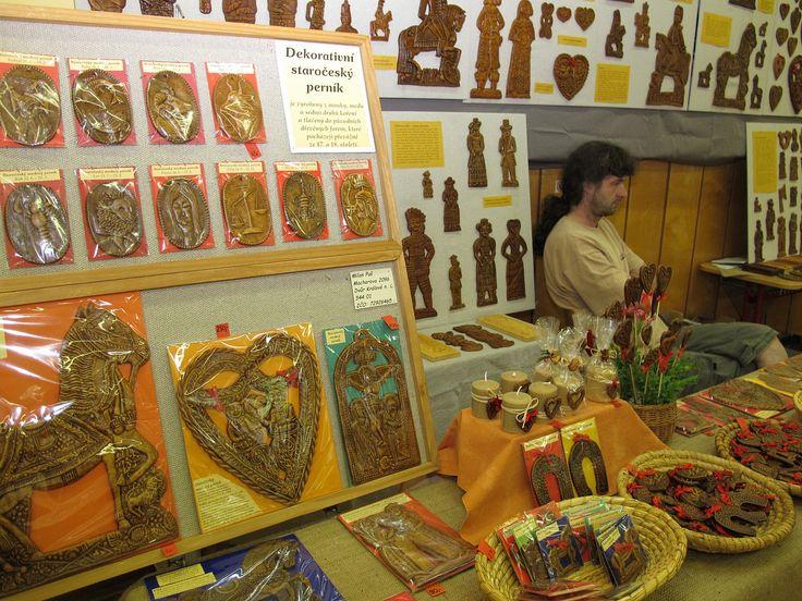Dřevěné formy, staročeský medový perník