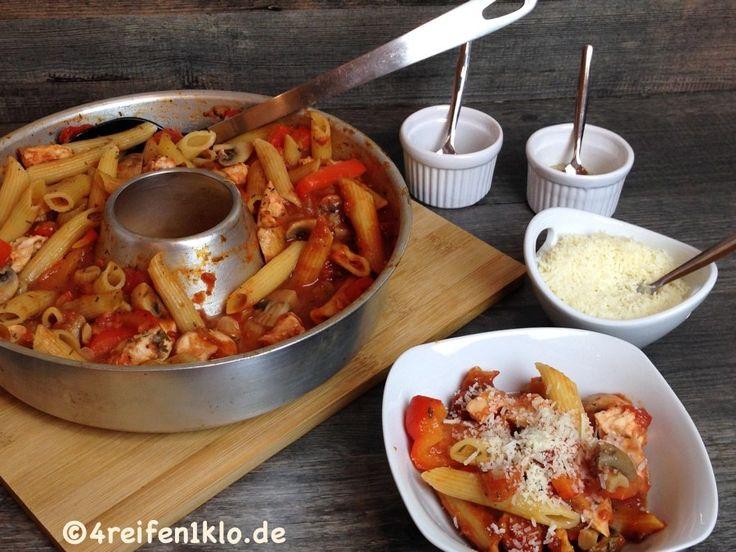 Chicken noodle pan  – Omnia Rezepte