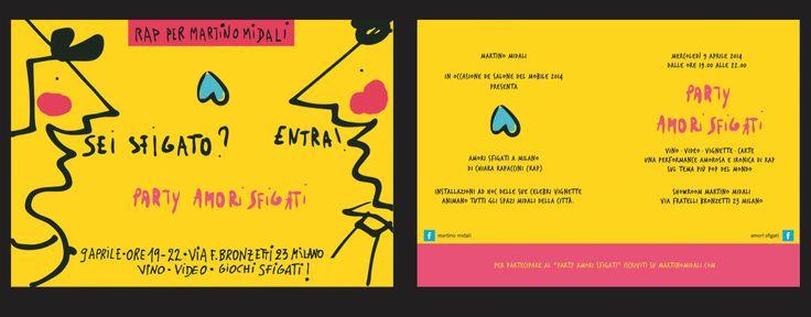 Party #amorisfigati a Milano: RAP per Martino Midali