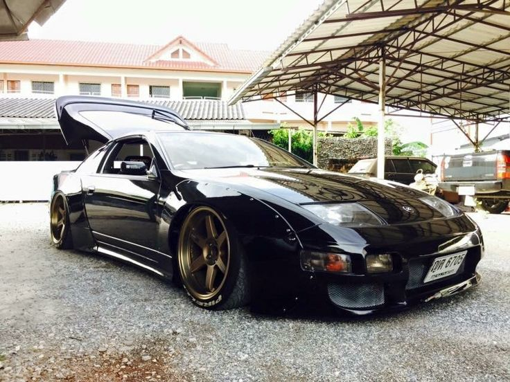 Nissan 300zx modified widebodyflares lowered slammed for Garage nation nissan
