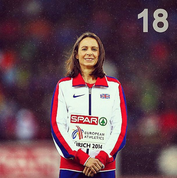 Yesterday's GiveMeSport moment at number 18 was Jo Pavey's 10,000m win at the European Championships. The British Athletics athlete of the year is also nominated for Sports Personality of the Year tonight!