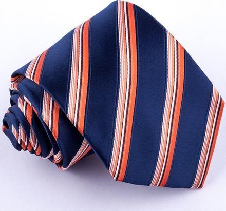 Greg pánská oranžová kravata 97024