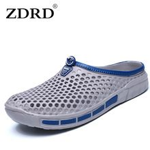US $9.98 ZDRD men Summer casual fashion sandals Cro shoes cs home male beach slippers funny mans slipony flip flops men bathroom slippers. Aliexpress product