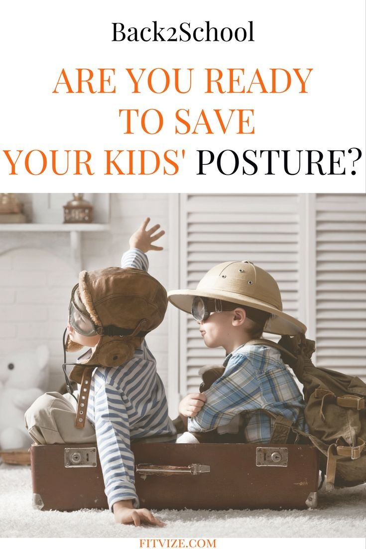 Posture correction|Pilates|Posture exercises Here they are: 10 tips to improve your child's posture. As a free little bonus: you can use them all too! https://fitvize.com/2016/08/30/back-to-school-how-to-save-your-kids-posture/