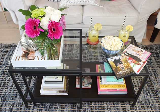 Coffee Table Staging Furniture Flipping Ideas