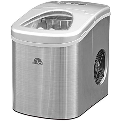 Igloo Ice105 Counter Top Compact Ice Maker Stainless Portable