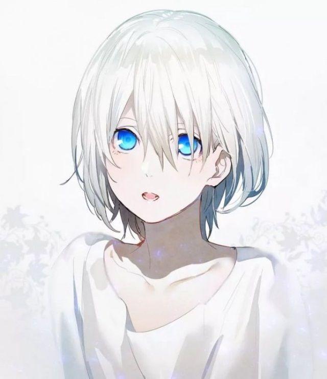 Anime Devushka S Belymi Volosami 37 Kartinok Risunki S