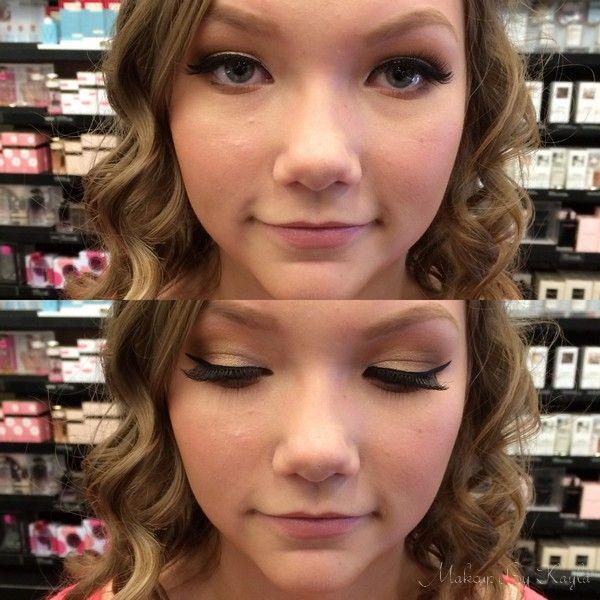 Grad makeup!