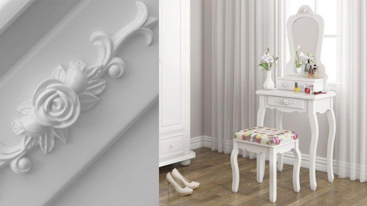 Toaletný stolík Madame Clotilde   Toaletné stolíky