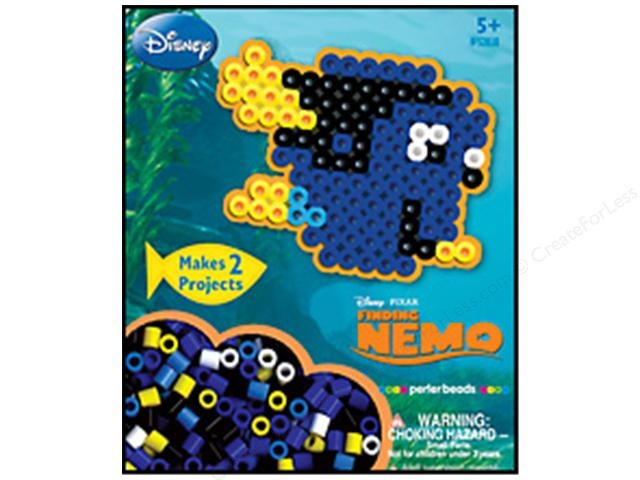 Finding Nemo perler beads kit - 2 per pack , good for boy or girl party. 2.99 at http://toptenresorts.net/craft