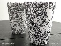 I love the fineliner detail in this work. The shading is gorgeous and I love the introquet pattern
