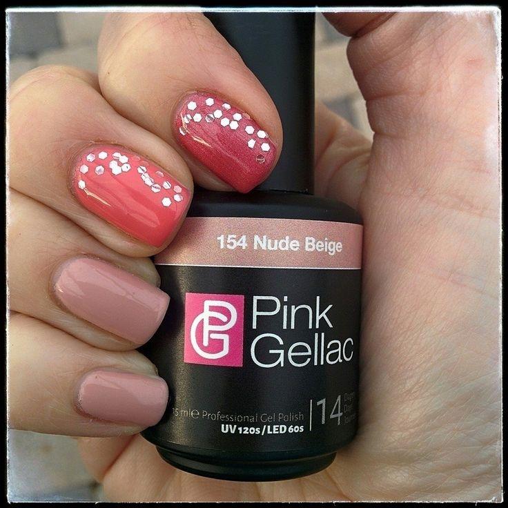 Bianca Van Dijk-van Parijs added a new photo to Pink Beauty Club's timeline — feeling excited. 154 Nude Beige, 156 Tropical (middelvinger)en 158 Candy Pink (wijsvinger) met blanke nailart heart emoticon Mooie nieuwe verpakkingen!! #loveit
