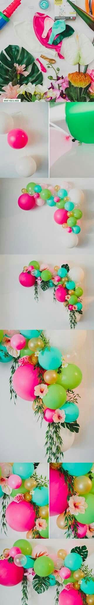 Balões para decorações de festas.