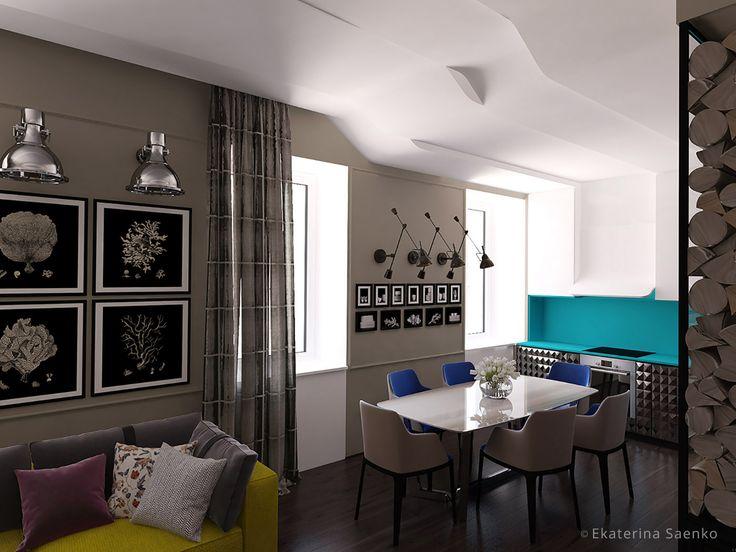 французский стиль в интерьере квартиры, авангардный интерьер