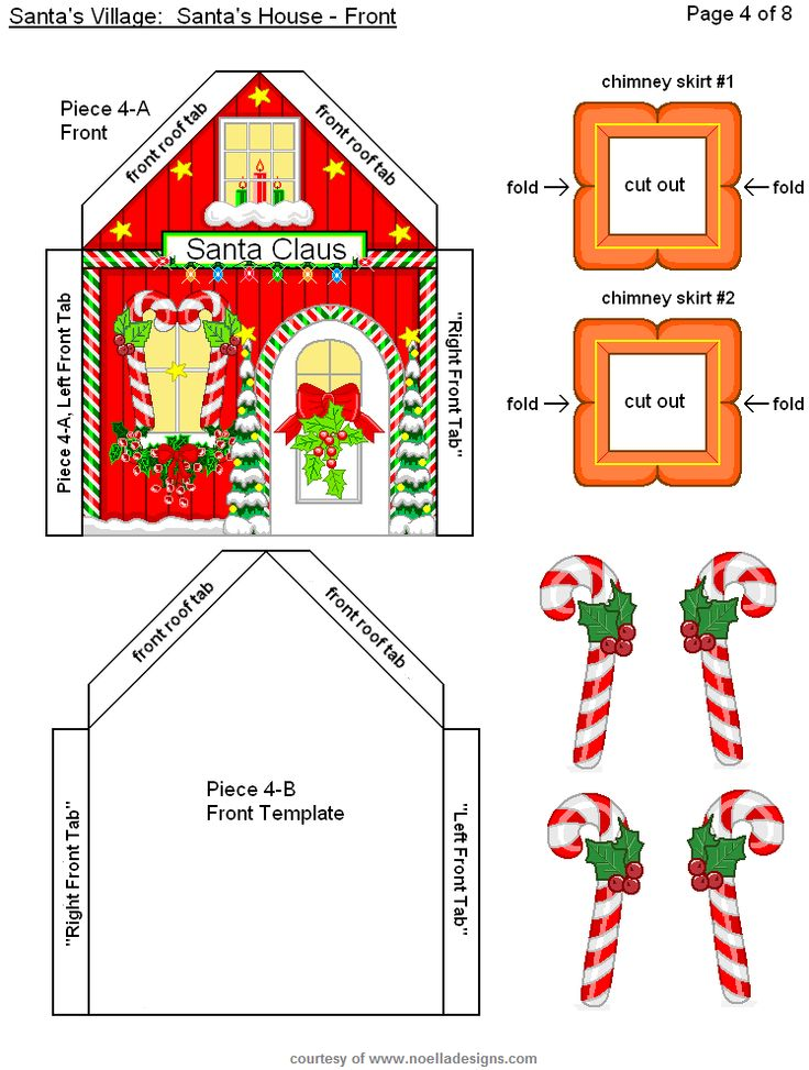 3445 best Christmas (Putz Insperation) images on Pinterest Paper - christmas paper template
