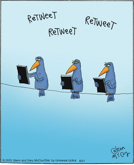 The Flying McCoys on GoComics.com #humor #comics #socialmedia #Twitter