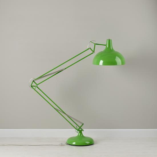 Kids Lighting: Giant Green Floor Lamp | The Land of Nod