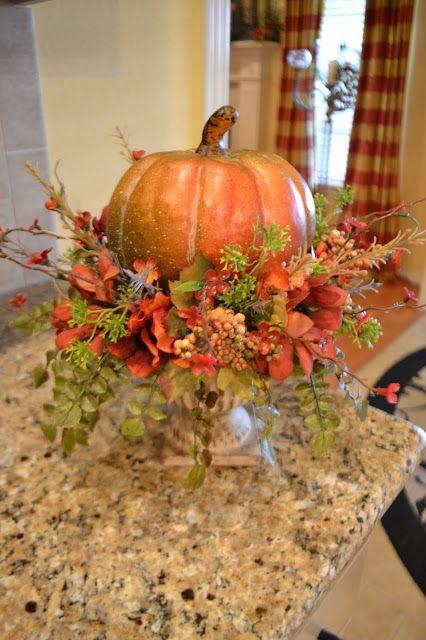 Pumpkin & Florals