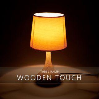 テーブルライト1灯木調タッチセンサーL【フロアスタンドライトテーブルランプ卓上卓上ライトフロアライトフロアランプ間接照明照明器具北欧ルームライトスタンドアンティークアンティーク調寝室シンプルおしゃれ】