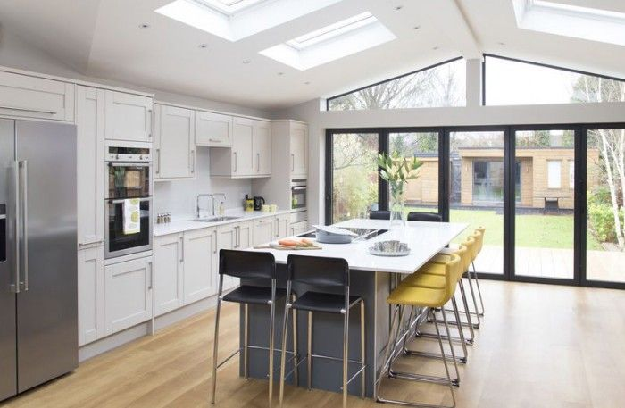 After waiting more than a decade, one family took the plunge and remodelled the downstairs layout of their home to create a substantial kitchen extension.