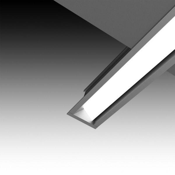 LIGHTPLANE 1 WALLWASHER – The LIGHTPLANE 1 WALLWASHER is an LED specific 1″ linear recessed channel. This small channel allows for minimal linear lighting in a recessed application. Driver is REMOTE. Design with the minimalist LP 1 for sleek, micro-illumination in a multitude of applications.