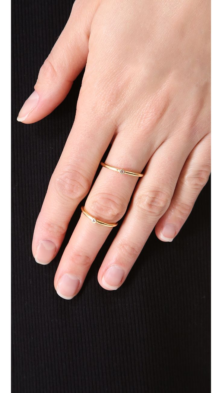 Elizabeth and James Miro Knuckle Ring