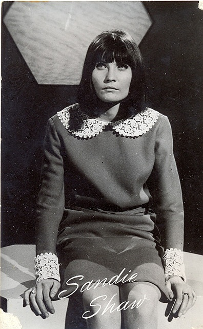 Sandie Shaw - a truly lovely voice.  Fun fact: she often performed in her bare feet.