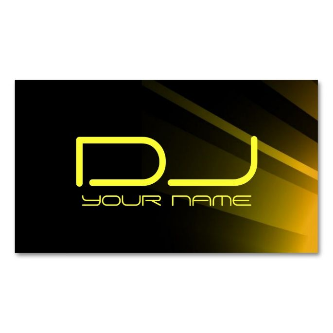 The 25+ best Dj business cards ideas on Pinterest Free business - club card design