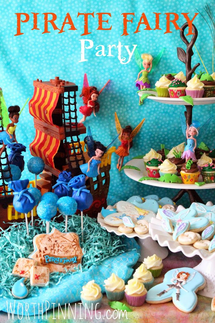 Worth Pinning: Pirate Fairy Party Details