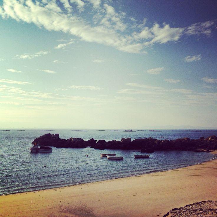 Instantánea de la Playa de Cabio en el primer día de Otoño  #otoño2014 #autumn2014
