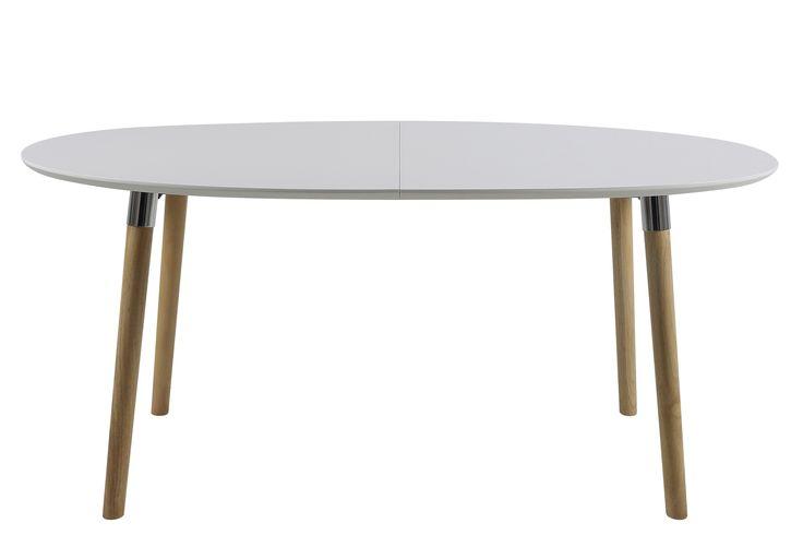 Esstisch Belinda weiß matt ausziehbar 170-270 cm