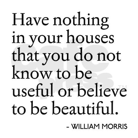 William Morris, father of the arts and craft movement