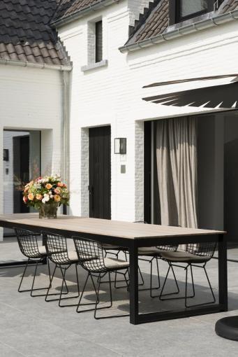 Mooie tuintafel als bureau ? - Realization 't Huis van Oordeghem, Outdoor designers, Belgium