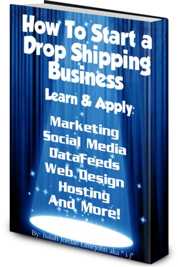 How To Start a Drop Shipping Business- This is something that I might get into this month. Whats your thoughts!