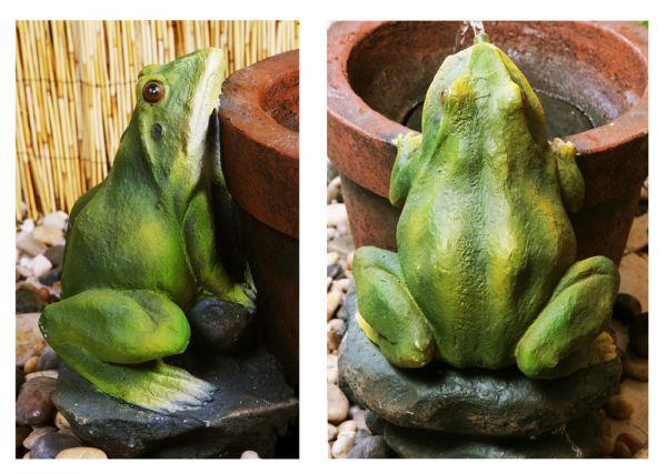 Two Frogs Water Feature only £22.95