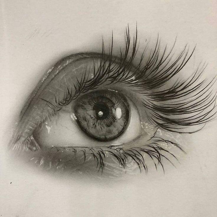 можно как рисовать глаза фотореалистично призналась, что нее
