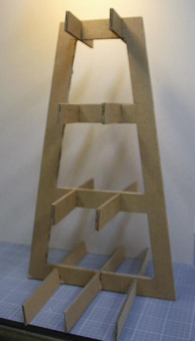 Tutoriel Tabouret ou meuble déco en carton Créations en carton cartonnage Femme2decoTV