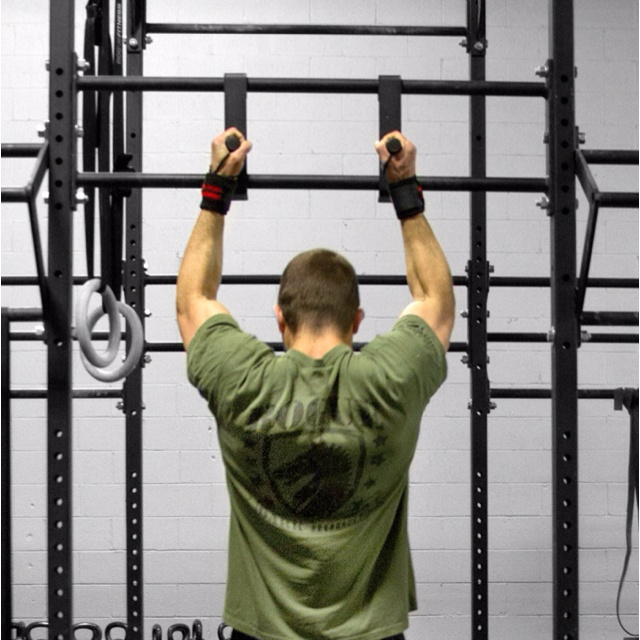 Neutral grip pull up attachment from rogue fitness